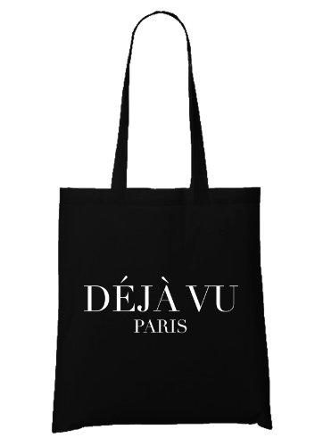 Black Vu Vu Bag Paris Paris Déjà Bag Black Déjà Déjà dZwZBq
