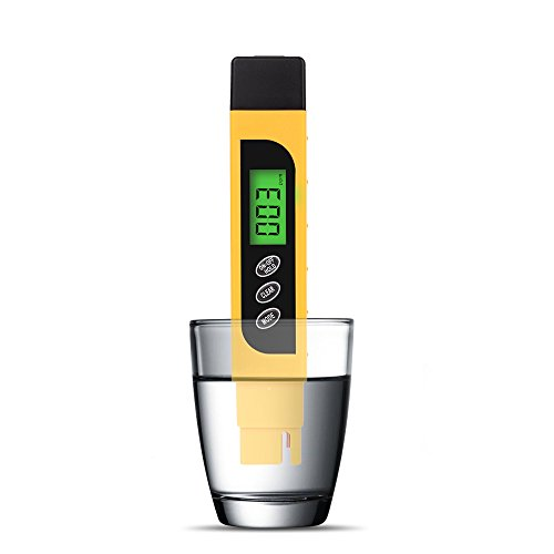 Hach Water Quality Test Strips (3 in 1 Digital Water Quality Tester Meter, Professional Quality TDS, EC & Temperature Meter, 0-9990ppm. Ideal for Drinking Water, Aquariums.)