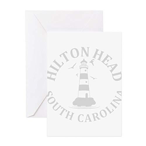 - CafePress Summer Hilton Head South Carolina Greeting Cards Greeting Card, Note Card, Birthday Card, Blank Inside Matte