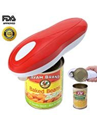 Electric Can Opener, Restaurant can opener, Smooth Edge Automatic Electric Can Opener! Chef's Best Choice (Best Sokos Can Openers)