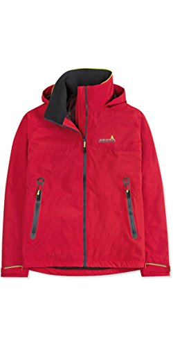 Musto BR1 Men's Inshore Waterproof, Windproof, and Breathable Sailing Jacket Red MD -
