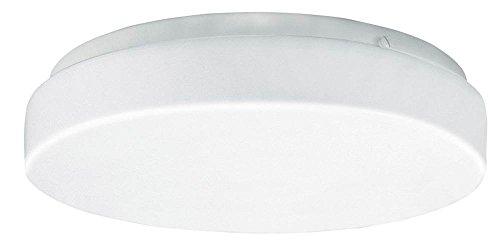 14 in. Round LED Ceiling Light in White (Kelvins: 2700K)