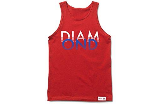 Diamond Supply Co Men's White Sands Tank Top, L