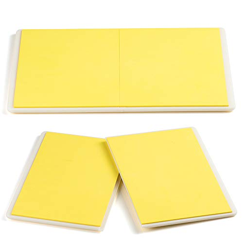 Aship Rebreakable Karate Boards Martial Arts Taekwondo Karate MMA Training ABS+EVA Foam Breaking Board-Yellow