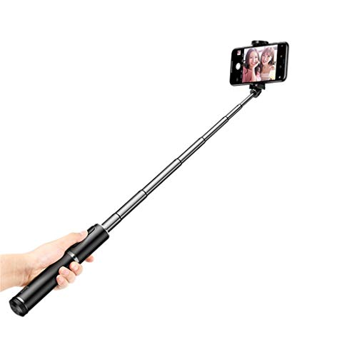 Sodoop Selfie Stick & Tripod Portable Folding Lightweight All-in-One Tripod with Wireless Remote Shutter Controller for Apple & Android,for Samsung,for Huawei More Smart Mobilephone (Silver)