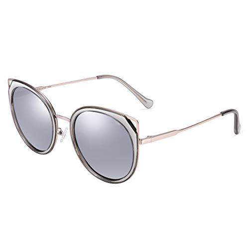 pour de Cat Cadre Lunettes Nouvelles soleil D colorées Des Sport à Miroir Soleil Eye Femmes Conduite de Grand de polarisées lunettes Femme YHUxwPAq