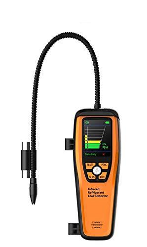Detector de Fugas de Refrigerante Avanzado Infrarrojos Alta Sensibilidad Elitech ILD-200