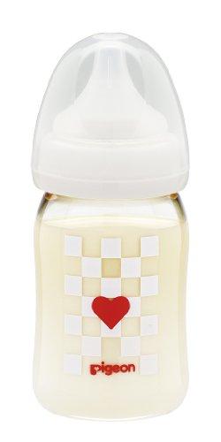 Pigeon Baby Bottles Plastic Heart 160ml