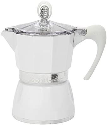 G.A.T. 2790000080 - Cafetera italiana, color Blanco: Amazon ...
