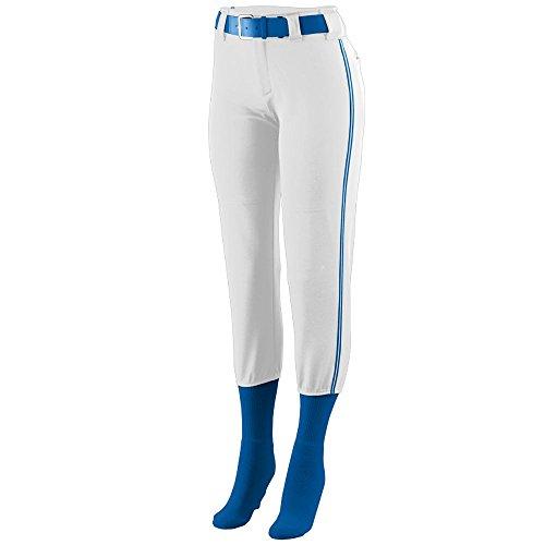 Augusta Sportswear GIRLS' COLLEGIATE LOW RISE SOFTBALL PANT M (Girls Low Rise Fleece Pants)