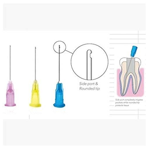 23G/ 27G / 30GA 30G Dental Endo Irrigation N-eedle Tip End-Closed Side Hole Endo S-yringe 100pcs/bag (23Ga)