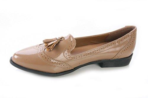 De Mojoshu Caqui Mujer Zapatos Vestir 6CwwqZ4P