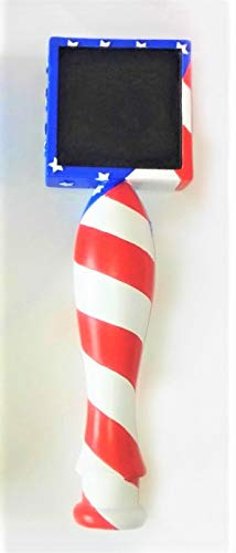 Merican Flag Chalkboard Beer Tap Handle Display Made of resin for Homebrew, Kegerators, or Bars