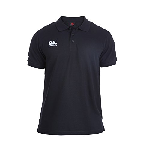 Canterbury E533803-989-XL Waimak Polo Shirt - Black, X-Large (Clothing Canterbury)
