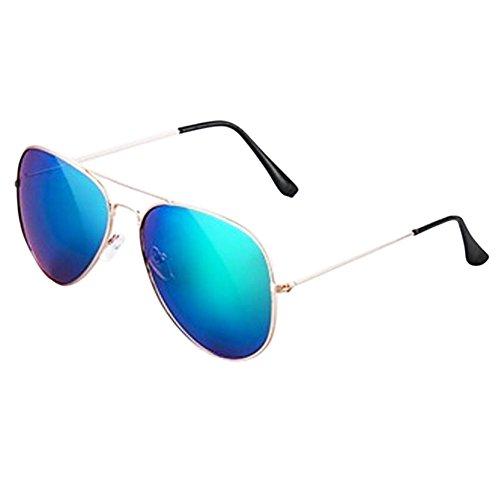 Unisex Cool Kids Sunglasses UV Prevention Sunscreen - Glass Hut Su