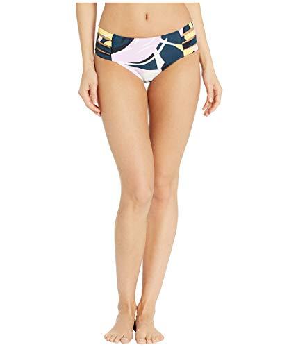 Seafolly Women's Active Multi Strap Hipster Bikini Bottom Swimsuit, Cut Copy Blueprint, 2 US ()