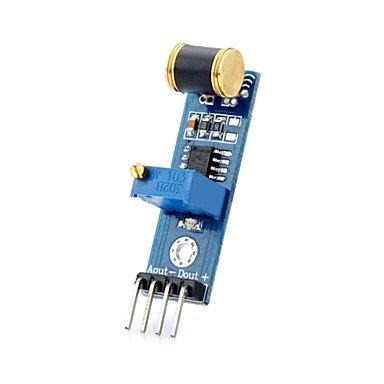 D1208036 DIY Analog Output Vibration Detection Sensor Module for (For Arduino)