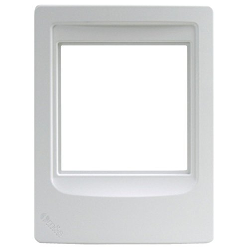 (M&S Systems DMCFRW Room Station Frame Weather-Resistant White Electronics Computers Accessories)