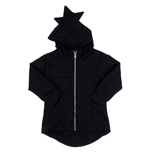 Charm Kingdom Baby Boys Long Sleeve Dinosaur Hoodies Toddler Zip-up Jacket Clothes