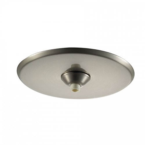 Quick Connect Pendant - WAC Lighting QMP-1RN-TR-BN Surface Mount Canopy Metal for Quick Connect Pendants/Fixtures