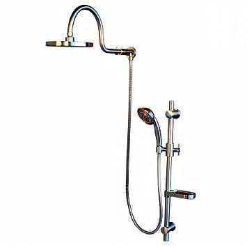 Attractive Pulse 1019 BN Aqua Rain Showerspa BN Retrofit Shower System