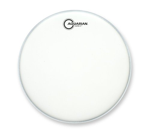Aquarian Drumheads TCS2-12 Super-2 Coated 12-inch Tom Tom Drum (Aquarian Super 2 Drum Heads)