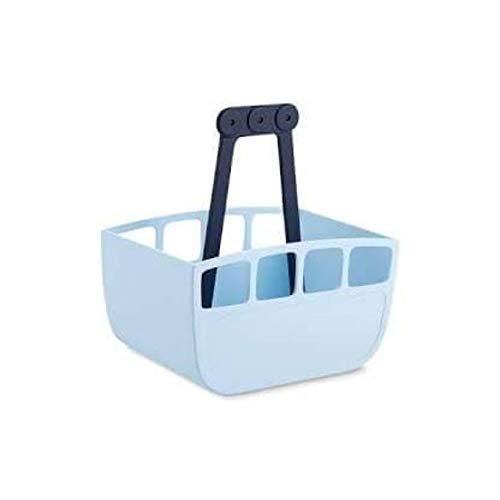Tchibo Hanging Peg Basket Bag Style Plastic Peg Storage Peg Holder Blue Deluxe Design Nostalgia Washing Line Peg Basket Storage Basket