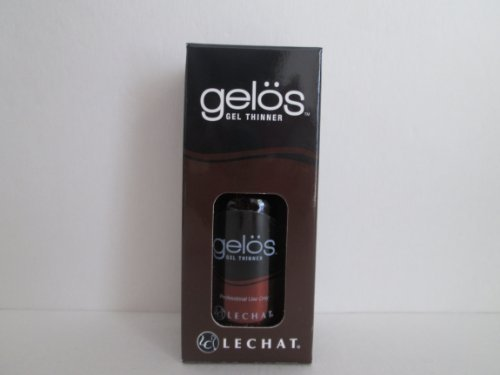 Gelos Soak-Off Gel, Gel Polish, UV Gel Thinner for Shellac Gel, Gelish, Perfect Match Gel ... 1 Oz (30 ml) Bottle with Dropper by LG
