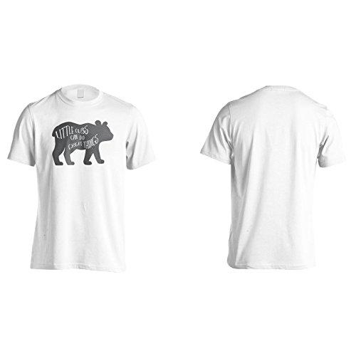 Kleine Jungen Können Große Sachen Machen Herren T-Shirt n218m