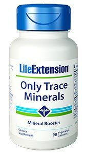 Life Extension Only Trace Minerals, 90 vegetarian capsules by Life Extension Dreierpack