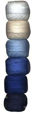 (Perle Cotton Size 8 Thread Sampler Pack Sashiko)