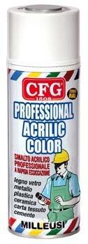 Bomboletta spray acrilico professionale Rosa 400 ML - Ral 3015 CFG srl