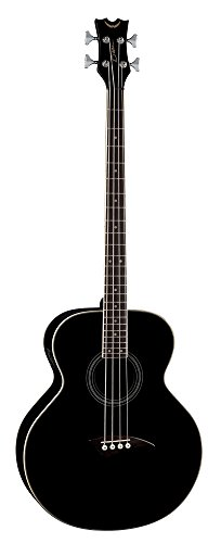 Dean 4 String Acoustic Electric Bass Classic Black FREE TUNER, CLOTH by Dean Guitars (Image #1)