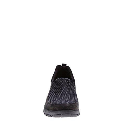 Strive Florida - Zapatos de cordones de piel regenerada para mujer negro negro negro