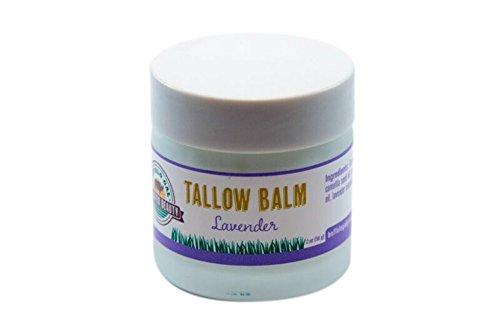 Buffalo Gal Grassfed Beauty TALLOW BALM – Lavender – SUPER MOISTURIZING for Face and Body 2 oz