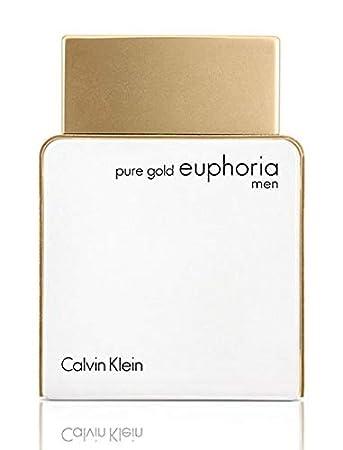 eb40385ef Pure Gold Euphoria by Calvin Klein for Men Eau de Parfum, 100 ml ...
