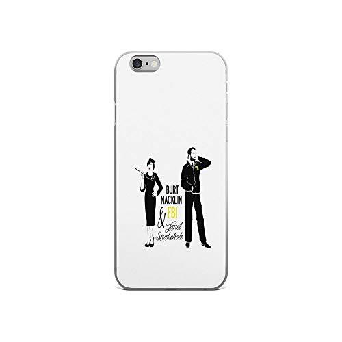 (iPhone 6 Case iPhone 6s Case Cases Clear Anti-Scratch Burt Macklin FBI & Janet Snakehole, Burt Macklin Cover Case for iPhone 6/iPhone 6s, Crystal)