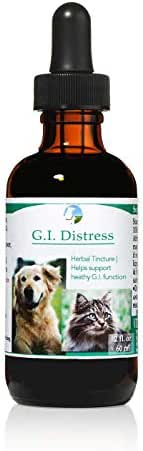 Vitality Science GI Distress Herbal Remedy for Cats and Dogs | Relieves Stomach Discomfort & Diarrhea | Aids Digestion & Healthy Inflammatory Response | Reduces Bloating | Boosts GI Tract | 100% Safe