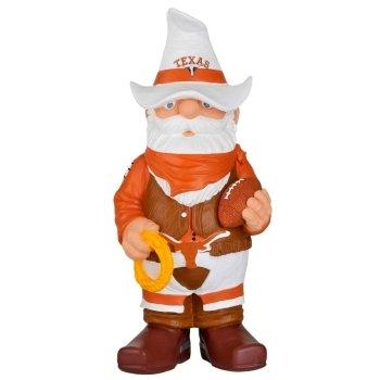 11' Sculpture - Texas Longhorns Garden Gnome - 11'' Thematic