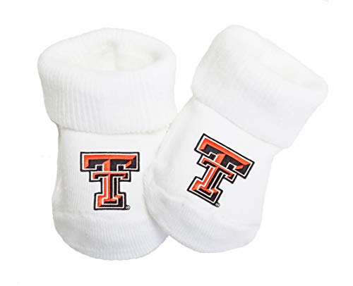 - Future Tailgater Texas Tech Red Raiders Baby Toe Booties