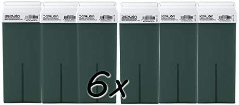 Pack 6 x Cera Roll On cartuchos de 100ml Azuleno/Alta calidad/Roll ...