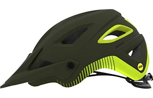 Giro Montaro MIPS Cycling Helmet - Matte Olive/Citron Small (Helmet Matte Olive)