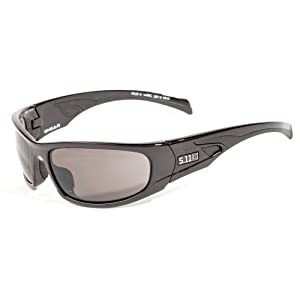5.11 Tactical Shear Eyewear with Gloss Black Frame