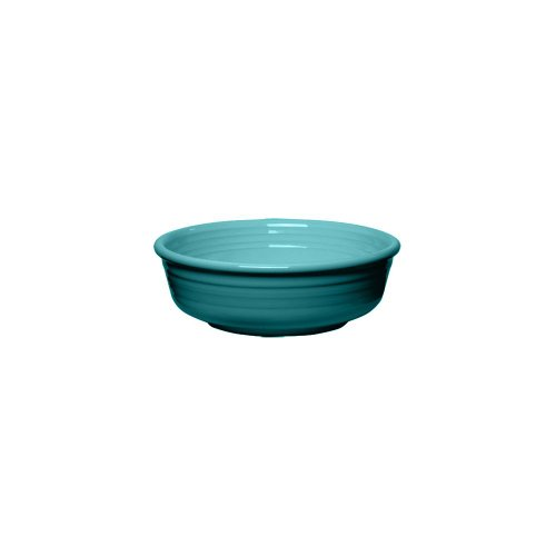 Homer Laughlin China 460107 Fiesta Turquoise 14.25 oz Bowl - 12 / CS 14.25 Ounce Small Bowl