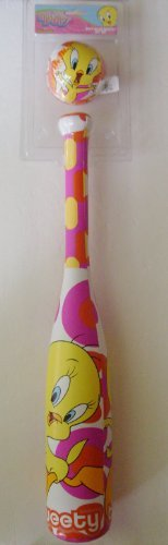 - Tweety Bird Soft Bat and Ball by Looney Tines