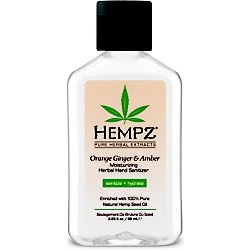 Hempz Sanitizer Moisturizing Herbal Ounce