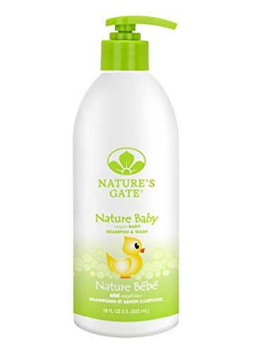 Nature's Gate Baby Soothing Shampoo for Fine, Delicate Hair, 18 Ounce (Pack of 4) (Care Natures Gate)