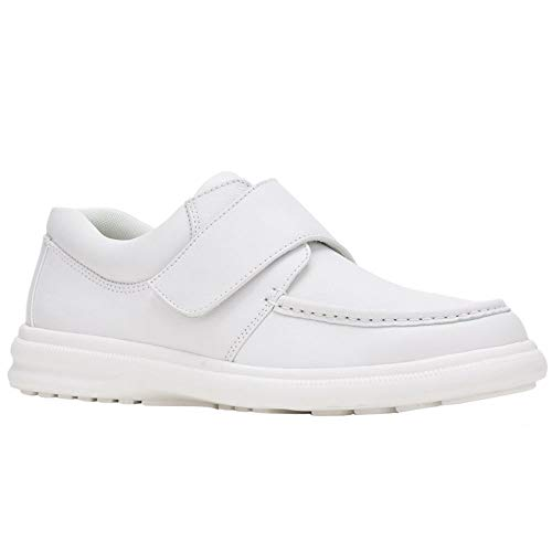 Hush Puppies Men's Gil White Leather 10.5 D ()