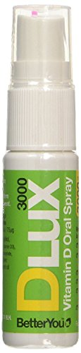BetterYou D Lux 3000 Oral Vit D3 Spray - 15ml (Pack of 4)