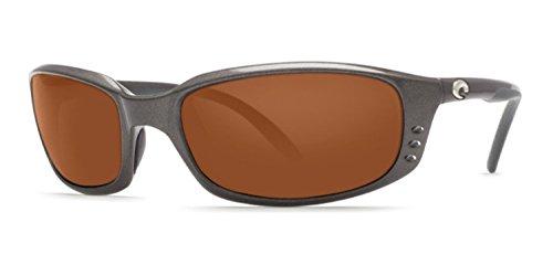 Costa Del Mar Brine Polarized Sunglasses Gunmetal Copper